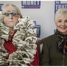 Shirley Jones and husband, Marty Ingels, Just One Question Celebrity Edition: Each episode features celebrity financial confessions from Shirley Jones, Sheila Bair, Maury Povich, Jacques Pepin, Cokie Roberts, Jeffrey Lyons, Jerry Springer, Joe Bastianich, Julie Newmar, and more!